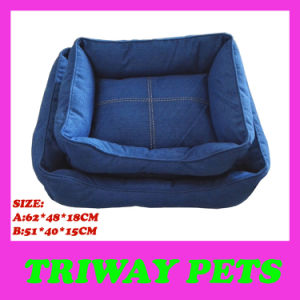 High Quaulity Denim Dog Bed (WY161024A/B) pictures & photos