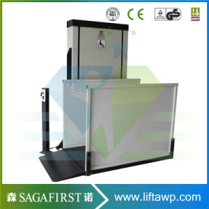 1.5m High Outdoors Vertical Disable Lift Table pictures & photos