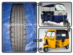 Auto Rickshaw Tire 4.00-8 with High Quality pictures & photos