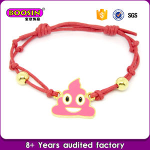 Emoji Jewelry Pink Poop Pendant Necklace Factory Wholesale pictures & photos