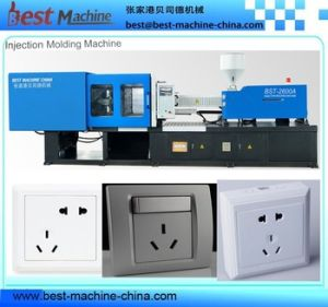 Customized Full Auto Plastic Switch Socket Injection Molding Making Machine pictures & photos