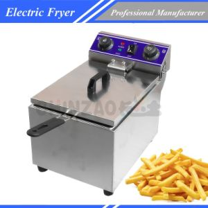 Single Tank Electric Deep Fry Machine Food Machinery Dzl-171b pictures & photos