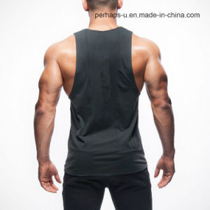 Wholesale Men′s Fitness Sport Sleeveless T-Shirt pictures & photos
