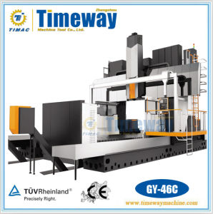 CNC Fixed Beam Gantry Moving Frame-Type Machining Center (Gy-46c) pictures & photos