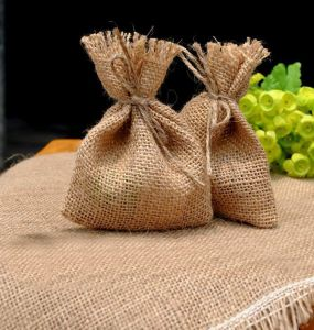 Eco Recyclable Gift Packaging Gunny Jute Bag pictures & photos