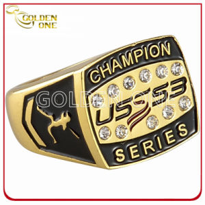 Custom Baseball League Replica Gold Championship Ring pictures & photos