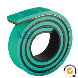 /Rubber Transmission Belt Flat Belts Sandwich Belt pictures & photos