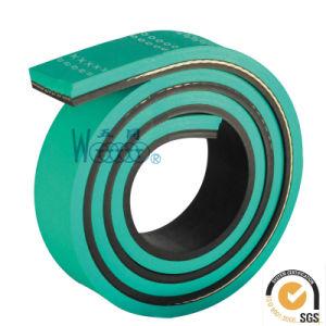 /Rubber Transmission Belt Flat Belts Sandwich Belt pictures & photos