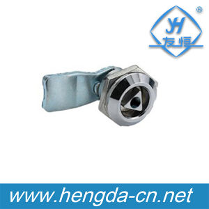 Best-Selling Triangle Cam Lock with Tubular Tool Key (YH9768) pictures & photos
