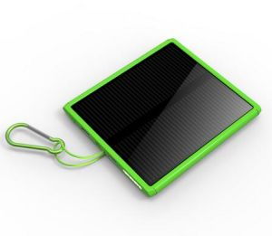 New Products Ultra-Thin Solar Mobile Power Supply 20000mA Power Bank pictures & photos