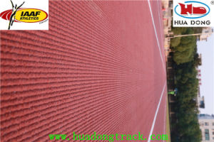 2014 Inchen Asia Game Prefabricated Rubber Running Track pictures & photos