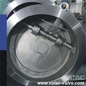 CF8/CF8m Cast Steel Wafer Swing Check Valve pictures & photos