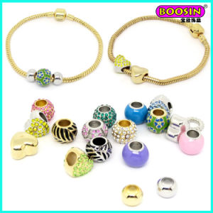 2016 New Fashion Wholesale Cheap Alloy Beads Charm Snack Bracelet pictures & photos