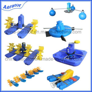 Fish Pond Machine 2HP 1.5kw 6impellers Paddlewheel Aerator