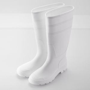 PVC Rain Boots (JK46501-White) pictures & photos