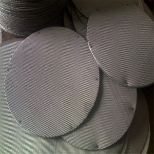 OEM 304 Stainless Steel Woven Wire Mesh Extruder Filter Screen/Filter Packs pictures & photos