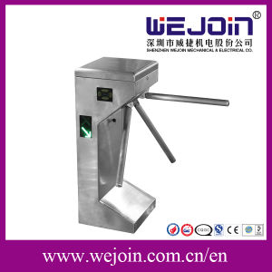 Pedestrian Control Waist Height Turnstile / Mechanical Entrance and Exit Gate pictures & photos