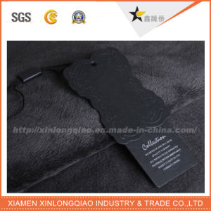 Custom Hot Sale Black Kraft Hang Tag for Garment pictures & photos