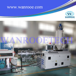 Conical Twin Screw Extruder PVC Conduit Pipe Making Machine pictures & photos