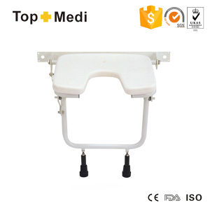 Topmedi U Shape Seat Bath Shower Chair for Disabale pictures & photos