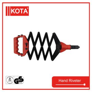 Lazy Tong Folding Hand Riveter