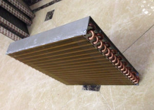 High Pressure Water to Air Copper Heat Exchanger Coil pictures & photos