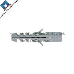 Zhejiang Nylon Plastic Wall Anchor for Nail Screw pictures & photos