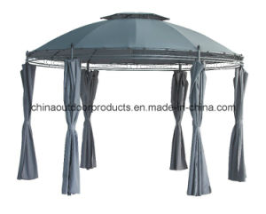 Double-Roof Garden Steel Tube Outdoor Folding Gazebo (ET-111) pictures & photos