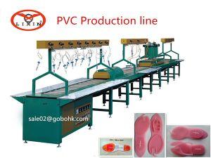 Soft Rubber Shoe Soles Injection Production Line pictures & photos