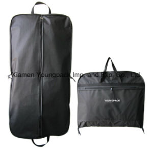 Custom Black PEVA/Non-Woven Travel Suit Cover pictures & photos