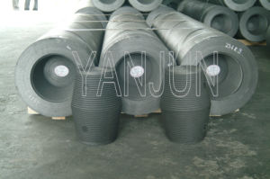 Dia600mm Graphite Electrode with Nipple pictures & photos