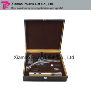 PU Leather Gift Box Bar Wine Tools Gift Sets pictures & photos