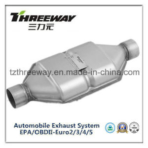 Car Exhaust System Three-Way Catalytic Converter #Twcat028 pictures & photos