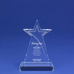 Etched Star Crystal Trophy for Stellar Employees (#78050) pictures & photos
