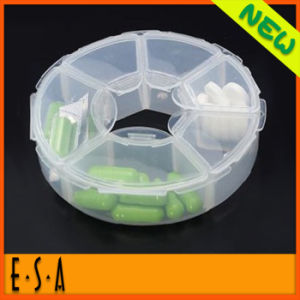 New Product 7 Days Weekly Medication Plastic Pill Box, Lowest Price Travel Pocket Weekly Plastic Pill Box T07A135 pictures & photos