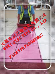PE Protective Film for Marble Flooring and Wooden Floor pictures & photos