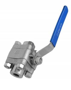F304 Forged Steel Threaded Ball Valve pictures & photos