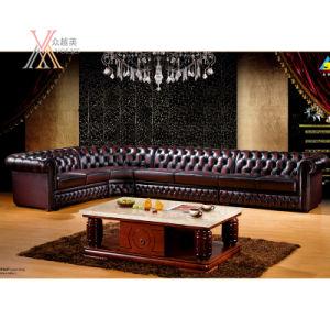 European Style Leather Sofa Set (HT850)