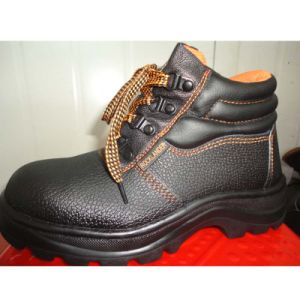 Basic Style Professional PU/Leather Outsole Safety Labor Shoes pictures & photos
