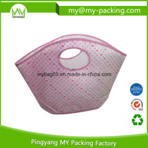 Promotional Shopping PP Laminated Nonwoven Die Cut Bag pictures & photos