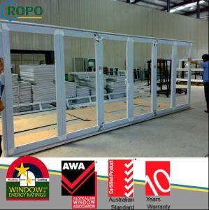 Glazed Plastic Bi Folding Doors, Double Glazed Folding Doors Pictures pictures & photos