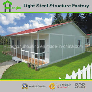 Movable Prefabricated House Flexible Prefab House Steel Villa pictures & photos