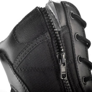 Ykk Zip Black Army Military Boots Desert Boots Safety Desert Combat Boots pictures & photos