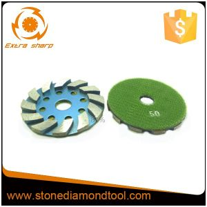 4 Inch Segment Concrete Floor Diamond Metal Grinding Disc pictures & photos