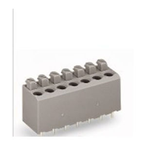 PCB Spring Terminal Block for Wire Connection (WJ236-3.81/5.0/7.5mm) pictures & photos