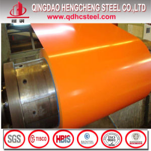 Matt Grain Precoated Prepainted Color Coated Zincalum Steel Coil pictures & photos