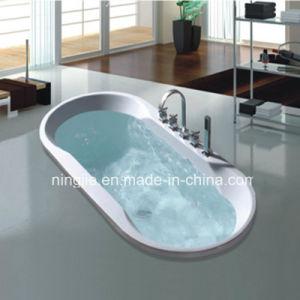 Ningjie Sanitary Ware Flushbonading Bathroom Whirlpool Bath Tub (NJ-6007) pictures & photos