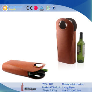Single Bottle Factory Price Neoprene Wine Cooler Bag (6501R2) pictures & photos