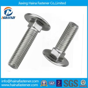 China Supplier DIN603 A307 4.8 8.8 Grade Carriage Bolt Stainless Steel 304 316 Round Head Square Neck Carriage Bolt pictures & photos