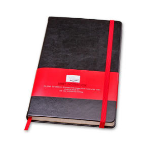 Classical Leather Diary with Printing Sleeve pictures & photos